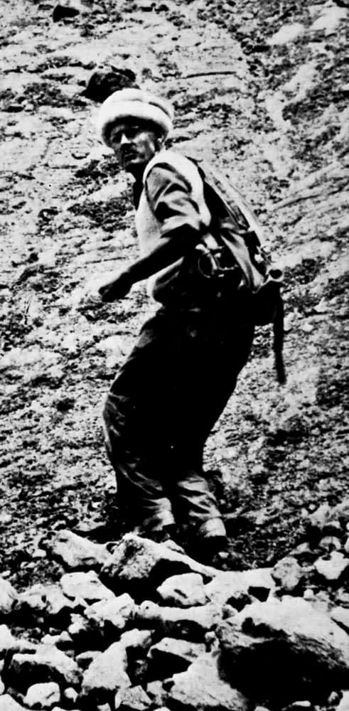 Hunza - John Clark en 1950
