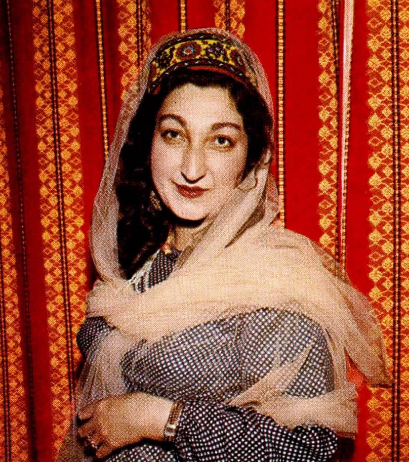 Hunza - Rani Shams-un Nahar en 1961
