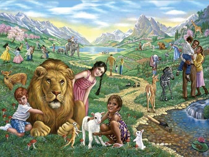 Le paradis des Témoins de Jéhovah