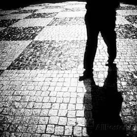 mans-legs-walking-at-night