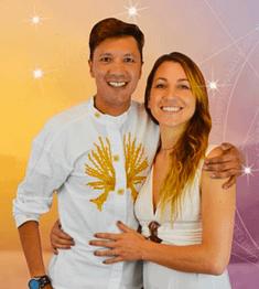 Akahi Ricardo et Camila Castello