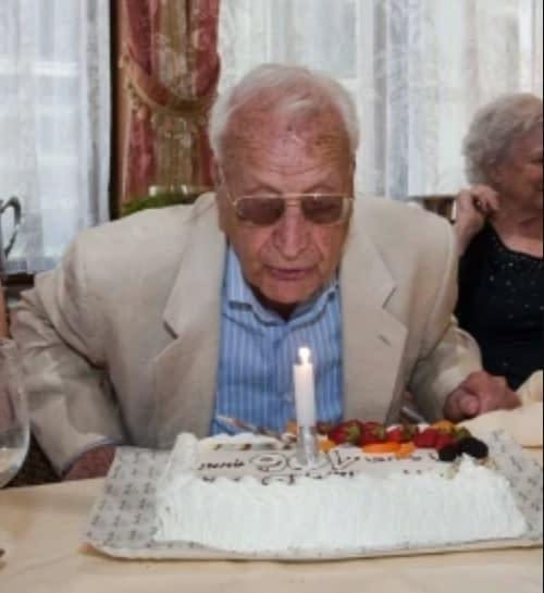 Ezio Ongaro (1907-2017) supercentenaire