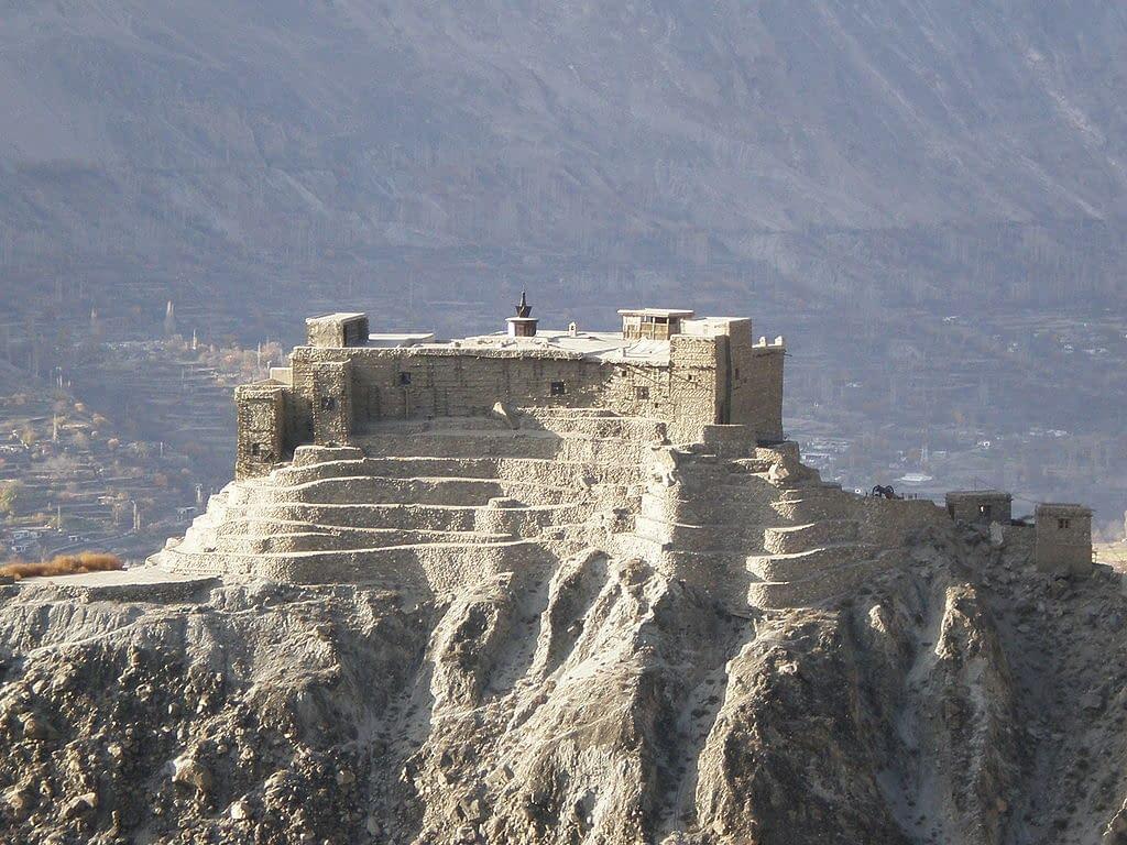 Hunza - Le fort de Baltit près de Karimabad