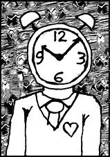 clock-in-head