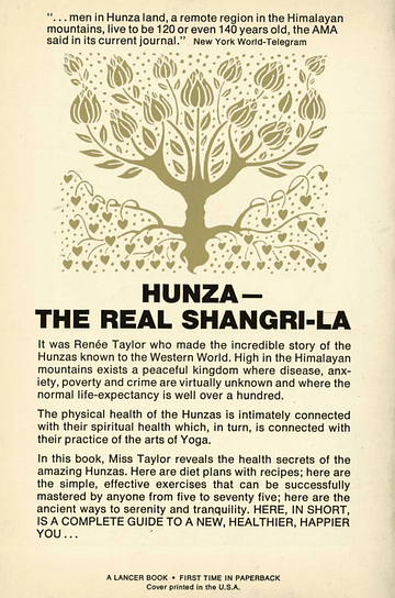 Hunza-Yoga couverture 2