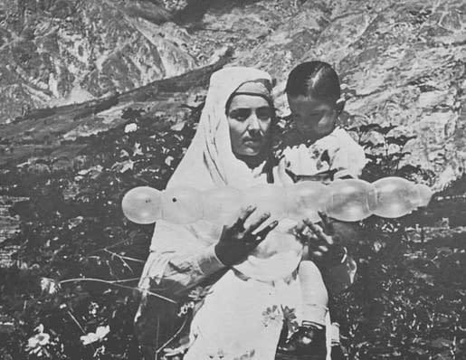 Le prince Abbas et sa nourrice
