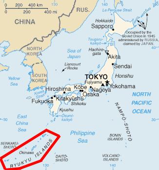 Okinawa - Ryuku islands