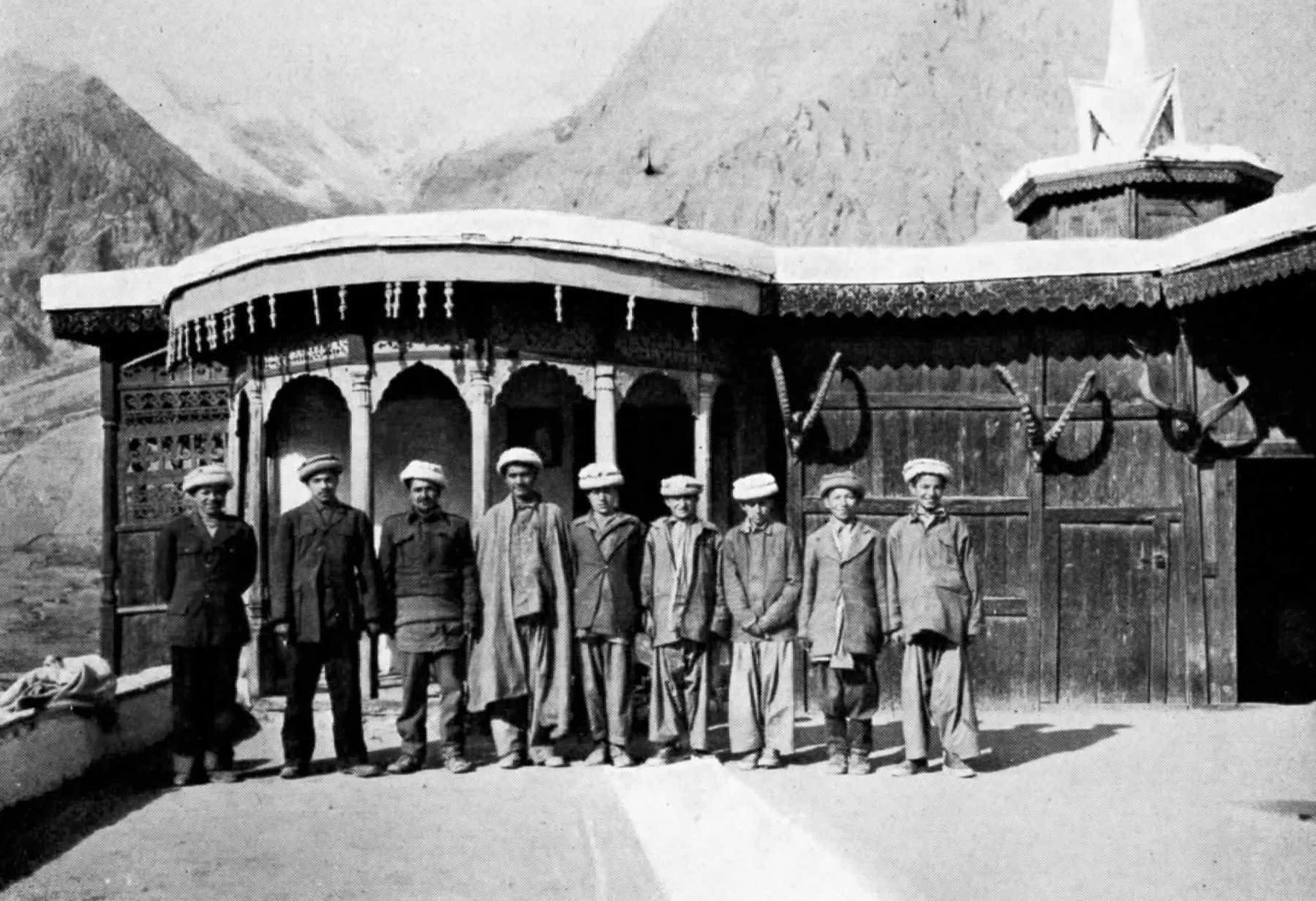 Hunza - L'équipe de John Clark en 1950