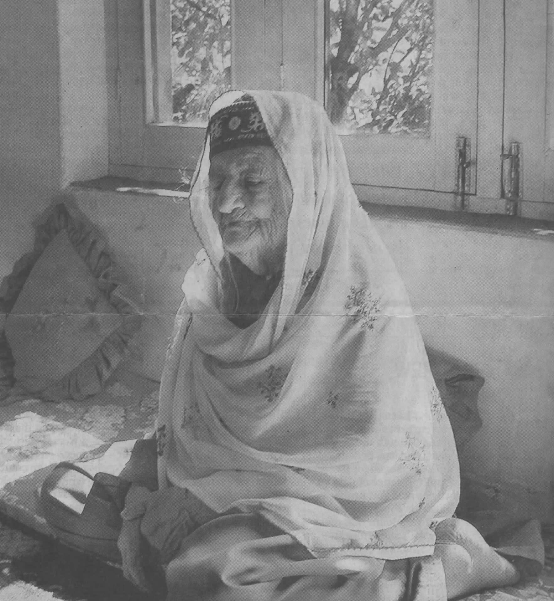 Hunza - Ghulbakht, âgée d'environ 100 ans
