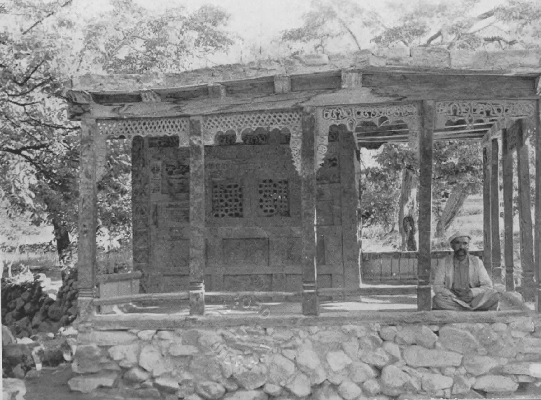 Hunza - La vieille mosquée d'Aliábád